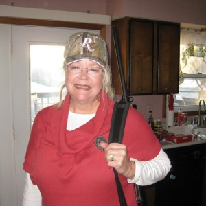 Mom and her new shotty